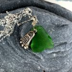 moroccan foot charm necklace