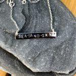 sea sand sky pendant