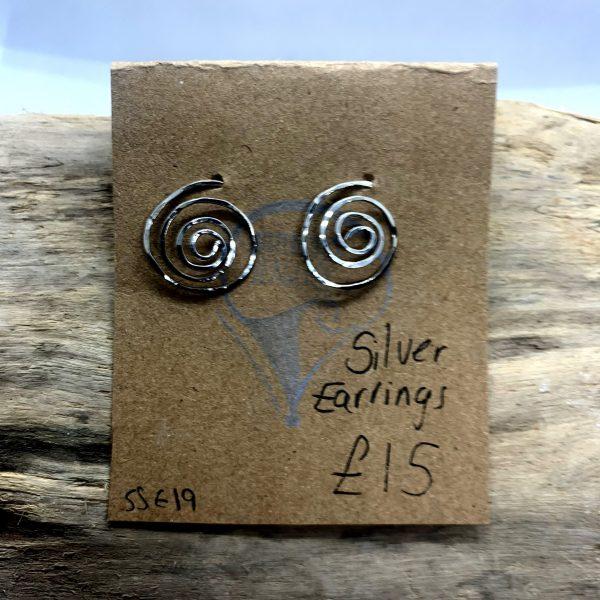 spiral earrings